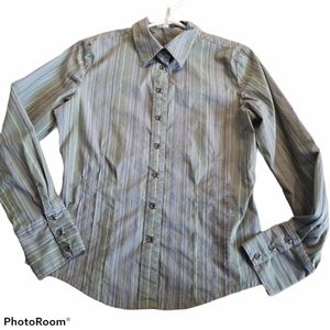 Lole Size 8, Snap Button Down Top